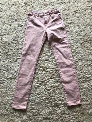 H&M Pantalone cinque tasche rosa antico