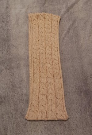 Écharpe ronde rose chair coton