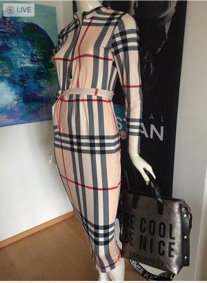Altamira Milano ital Boutique Kleid ähnlich burberry Small Stretchig