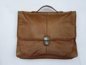alte braune Schultasche Vintage Retro Harolds
