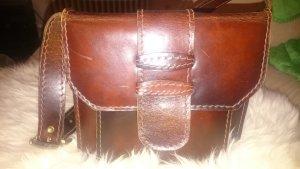 Alte retro Handtasche aus Leder