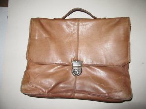 Vintage Carry Bag cognac-coloured