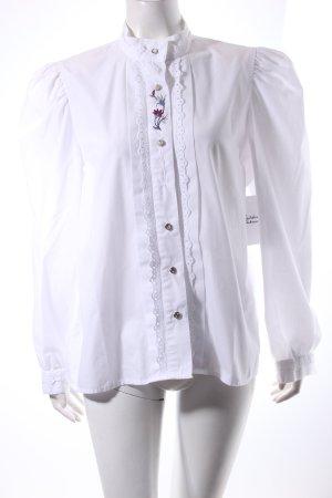 Altenbeurer Folkloristische blouse bloemenprint simpele stijl