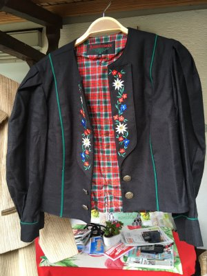 Altenbeurer Traditional Jacket black-forest green