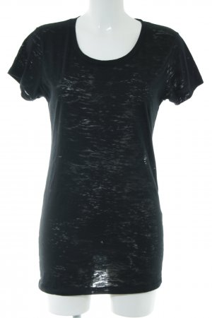 Alternative T-Shirt schwarz meliert Casual-Look