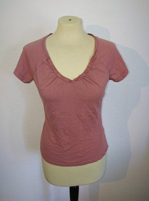 Altrosa farbendes T-Shirt