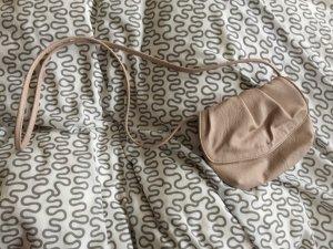 Altrosa kleine Umhängetasche Handtasche