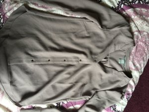 Altrosa Langärmelige Bluse in XS von H&M