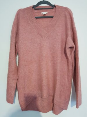 H&M Oversized Sweater rose-gold-coloured-dusky pink