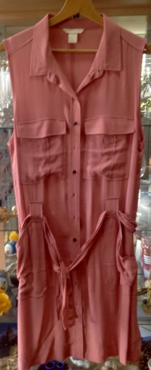 Altrosa Pfirsich Farben Tunika Kleid