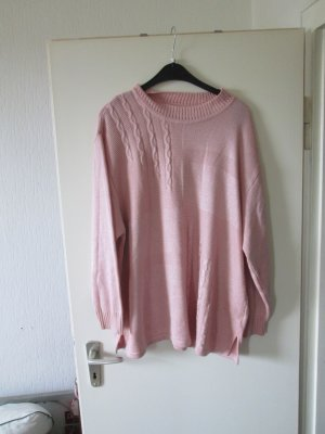 Sweater stoffig roze