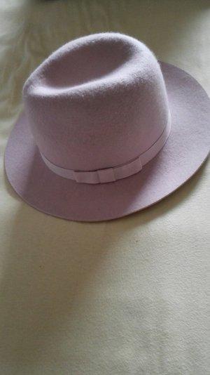 Altrosa Rosa Hut mit Schleife Neu mit Etikett