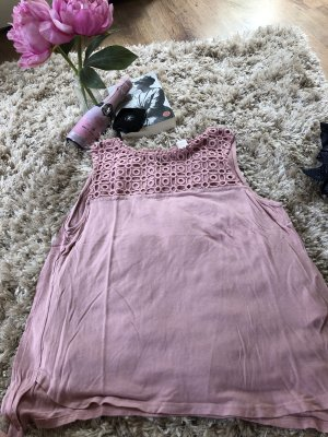 H&M Haut cut-out or rose-vieux rose