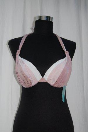 H&M Bikini rosa-blanco