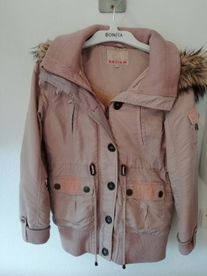altrosa Winterjacke von Review in Gr. M