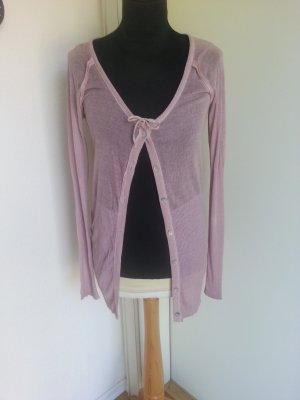 Container Knitted Cardigan pink-dusky pink viscose