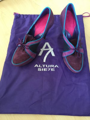 Altura Siete : Violette Schuhe