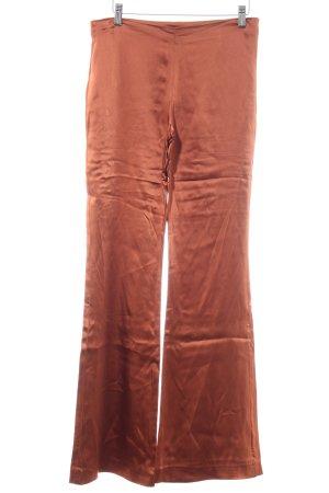 Alysi Broek met wijd uitlopende pijpen bruin casual uitstraling