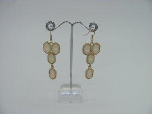❤️ Am 28.2.19 ist Schluss❤️ Statement Ohrringe Ohrhänger Rosé Gold NEU&OVP 7cm x 2cm ❤️