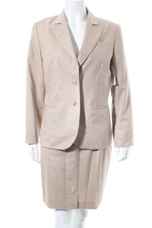 Amalfi Tailleur-pantalon beige moucheté style d'affaires