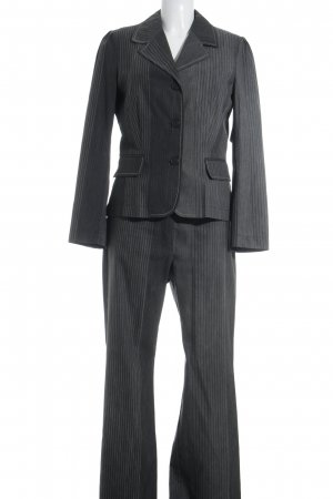 Amalfi Broekpak grijs-lichtgrijs gestreept patroon elegant