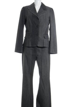 Amalfi Trouser Suit grey-light grey striped pattern elegant
