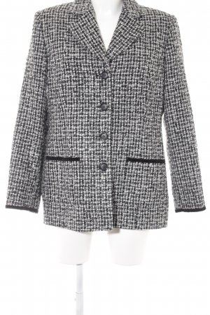 Amalfi Short Blazer black-white flecked casual look