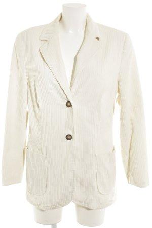 Amalfi Long Blazer natural white elegant