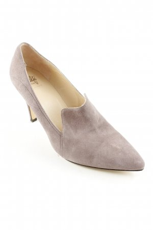 Amalfi Pointed Toe Pumps light brown elegant