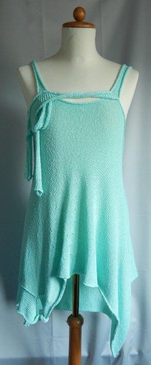 Gebreide jurk munt Gemengd weefsel