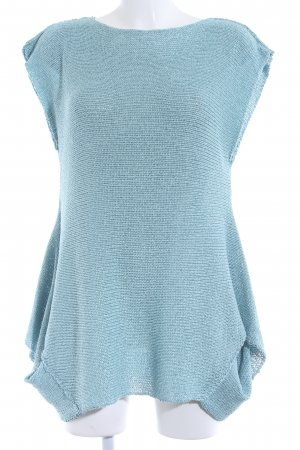 Amandine Knitted Jumper light blue elegant