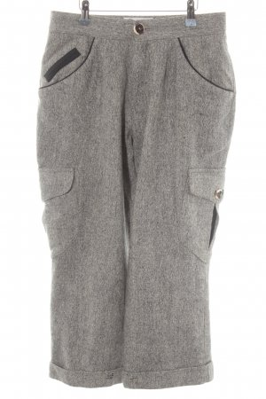 Amann Chinos light grey-grey flecked country style