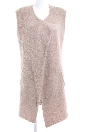 Amaryllis Chaleco de punto largo nude look casual