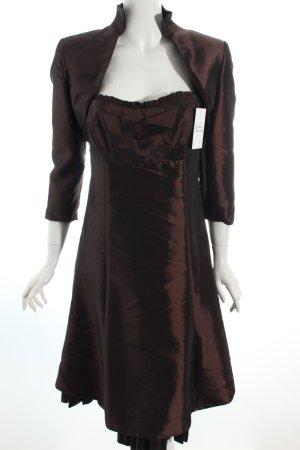Ambiance Evening Dress dark brown elegant