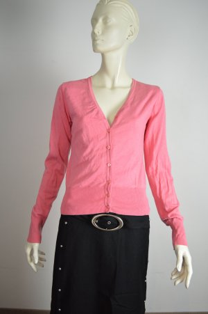 Ambiente Cardigan Gr. S pink tolles Innenfutter