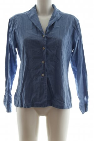 Ambiente Shirt Blouse blue flecked casual look