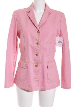 Ambiente Spijkerblazer goud-roze casual uitstraling