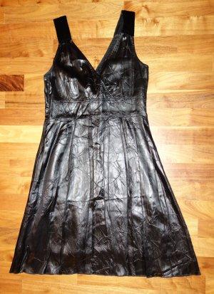 Ambiente A-lijn jurk zwart Acetaat