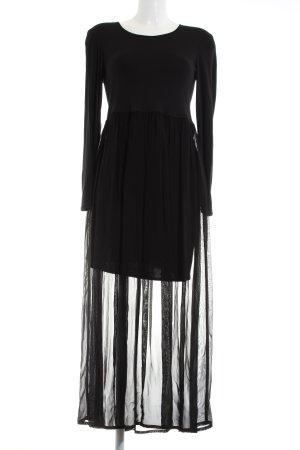 Ambiente Maxi abito nero elegante