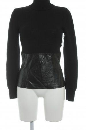 Ambiente Turtleneck Sweater black casual look