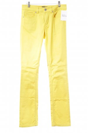 Ambiente Slim Jeans yellow extravagant style