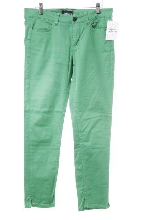 Ambiente Slim Jeans grün extravaganter Stil