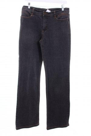 AMBIENTE Sport Straight Leg Jeans dark grey casual look