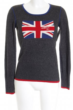 Ambiente Sport Knitted Sweater grey casual look