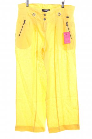 Ambiente Jersey Pants yellow casual look