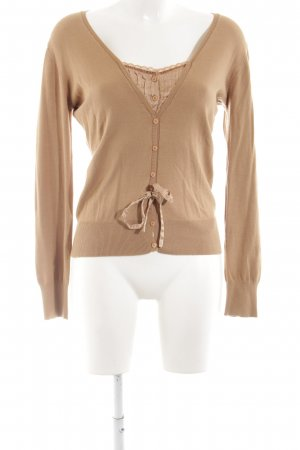 Ambiente Strickjacke nude Casual-Look