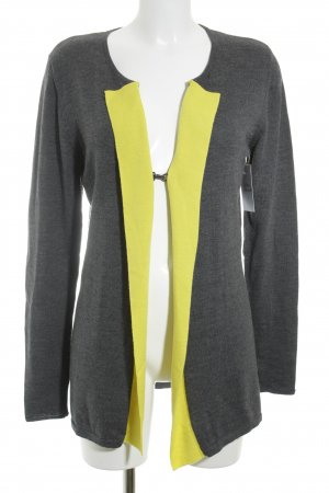 Ambiente Cardigan grey-yellow simple style