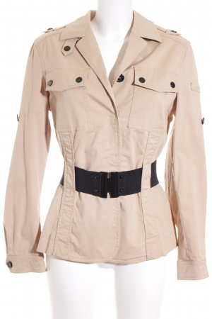 Ambiente Between-Seasons Jacket beige-black Brit look