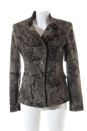 Ambiente Overgangsjack khaki-olijfgroen straat-mode uitstraling