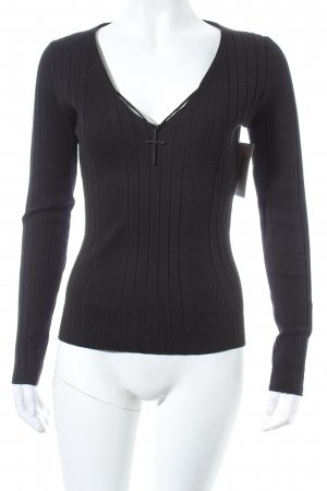 Ambiente V-Neck Sweater black casual look